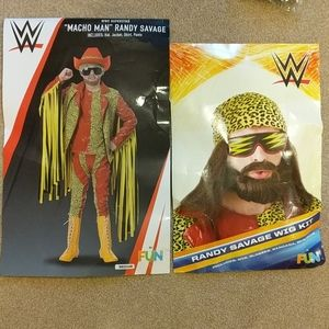 Boys Macho Man Randy Savage WWE costume